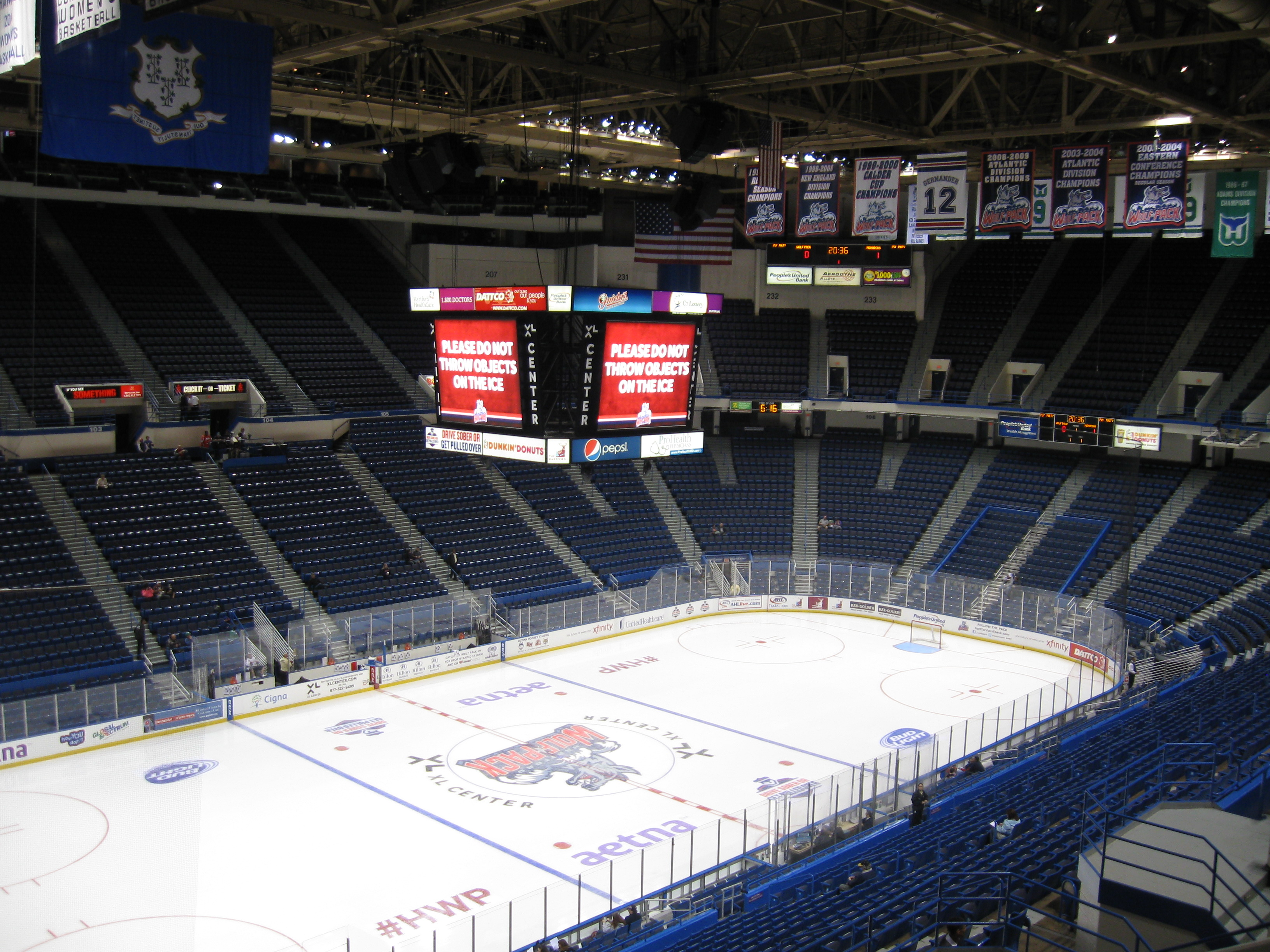 XL CENTER SEATING CHARTS